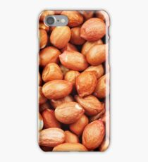 A close up image of raw spanish peanuts iPhone Case/Skin