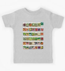 Vegetable seeds pattern Kids Tee