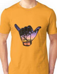 Shaka Palm Trees Unisex T-Shirt
