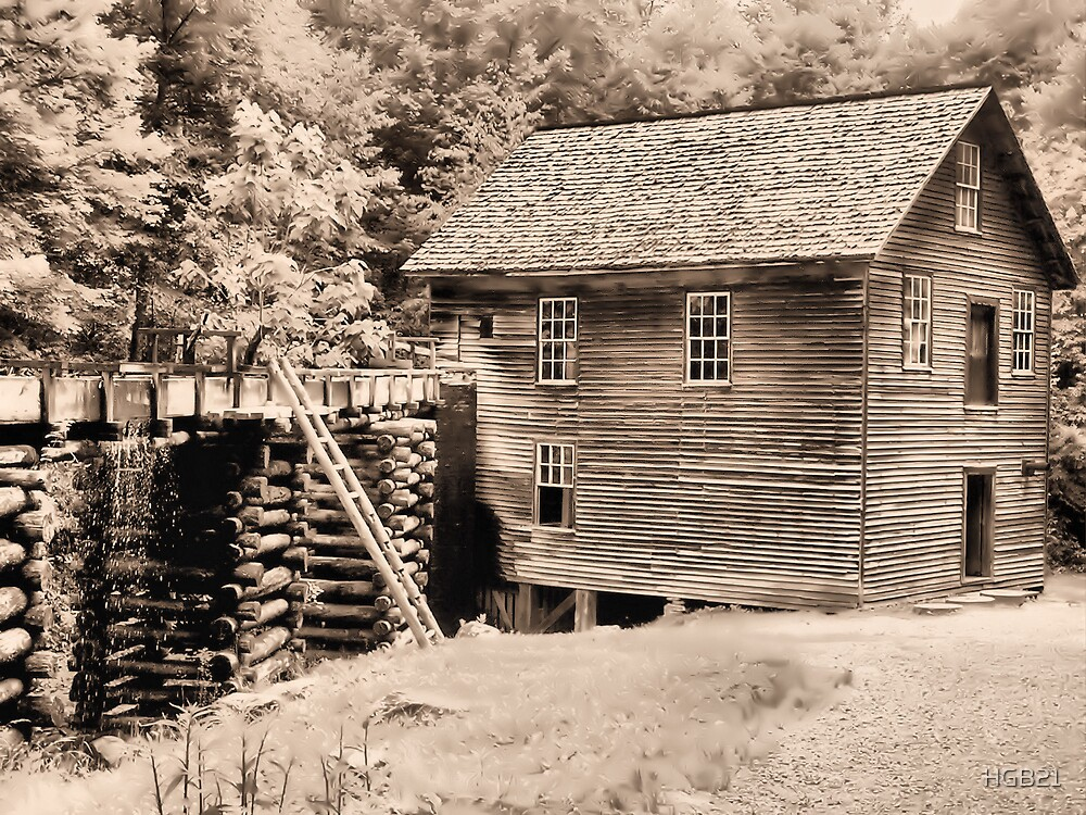 The Mill  Sepia by HGB21