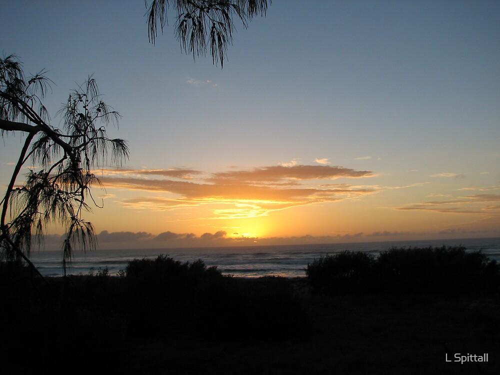 Moreton sunrise by L Spittall