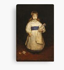 Frank Duveneck - Mary Cabot Wheelwright 1882 Canvas Print
