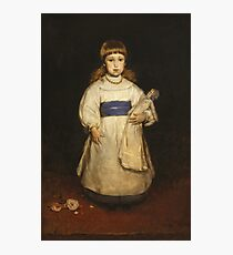 Frank Duveneck - Mary Cabot Wheelwright 1882 Photographic Print