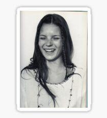 Teen Kate Moss Sticker