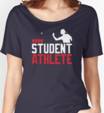 Beer Pong Student Athlete Women's Relaxed Fit T-Shirt