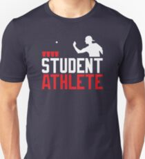 Beer Pong Student Athlete Unisex T-Shirt