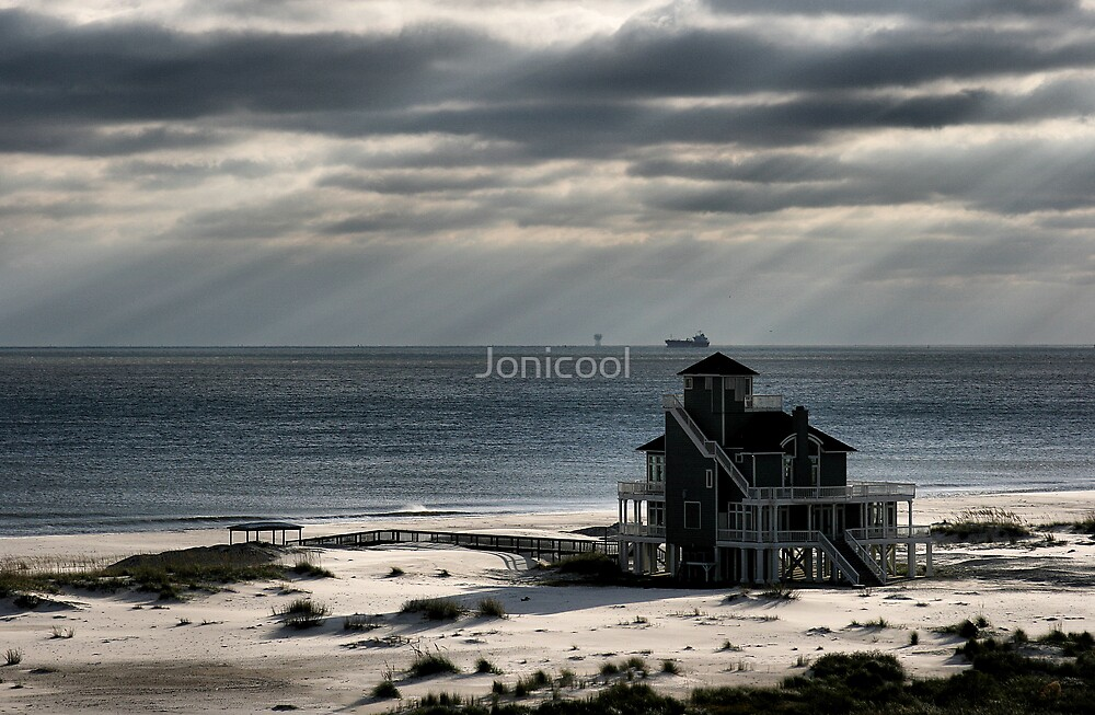 The Beach House by Jonicool