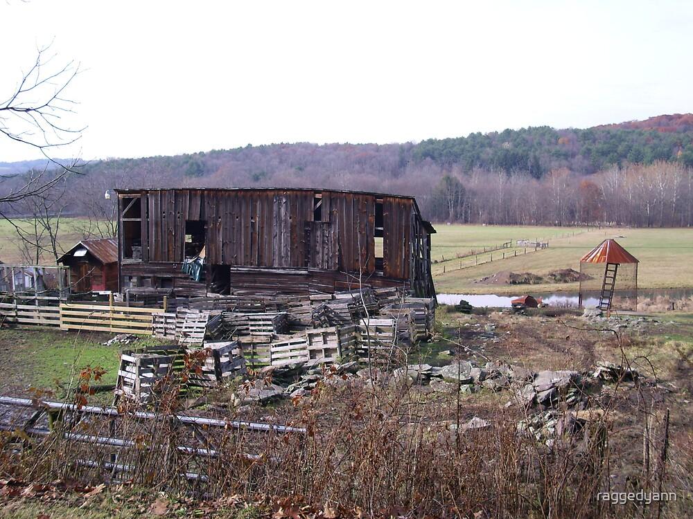 old barn by raggedyann