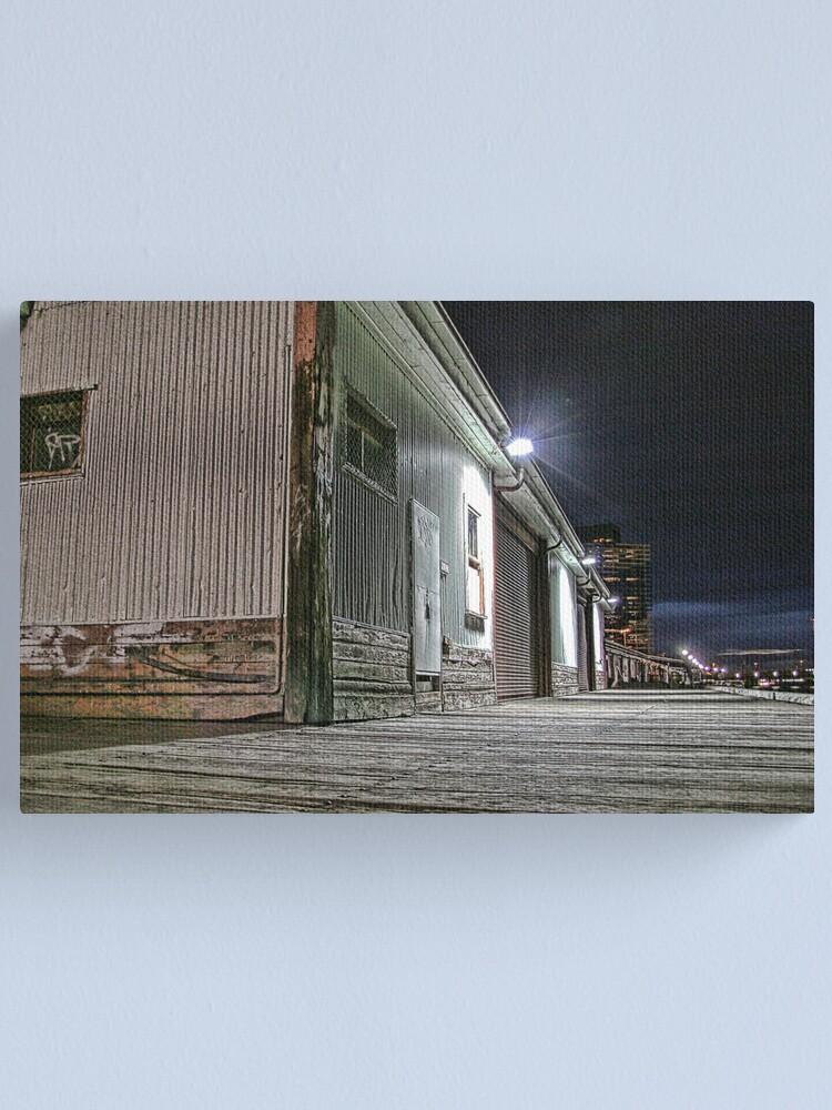 Alternate view of Melbourne Series - Yarra Boardwalk Canvas Print