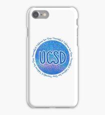 UC San Diego (Style #1) iPhone Case/Skin