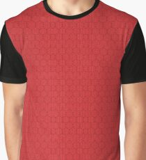 Traditional Chinese Red Pattern  Graphic T-Shirt