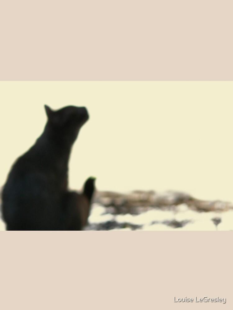 Black cat... by LouiseLeGresley