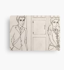 Victorian Who Canvas Print