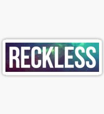Reckless Galactic Infinity Sticker