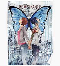 Life Is Strange - Max and Chloe Poster