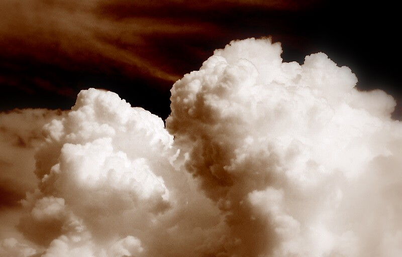 Clouds by garain