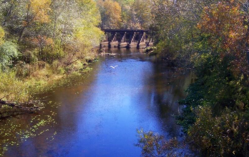 Railroad Bridge by garain