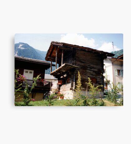 Ancient cottage Canvas Print