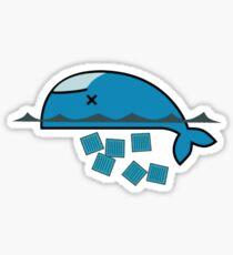 Dead Docker Sticker