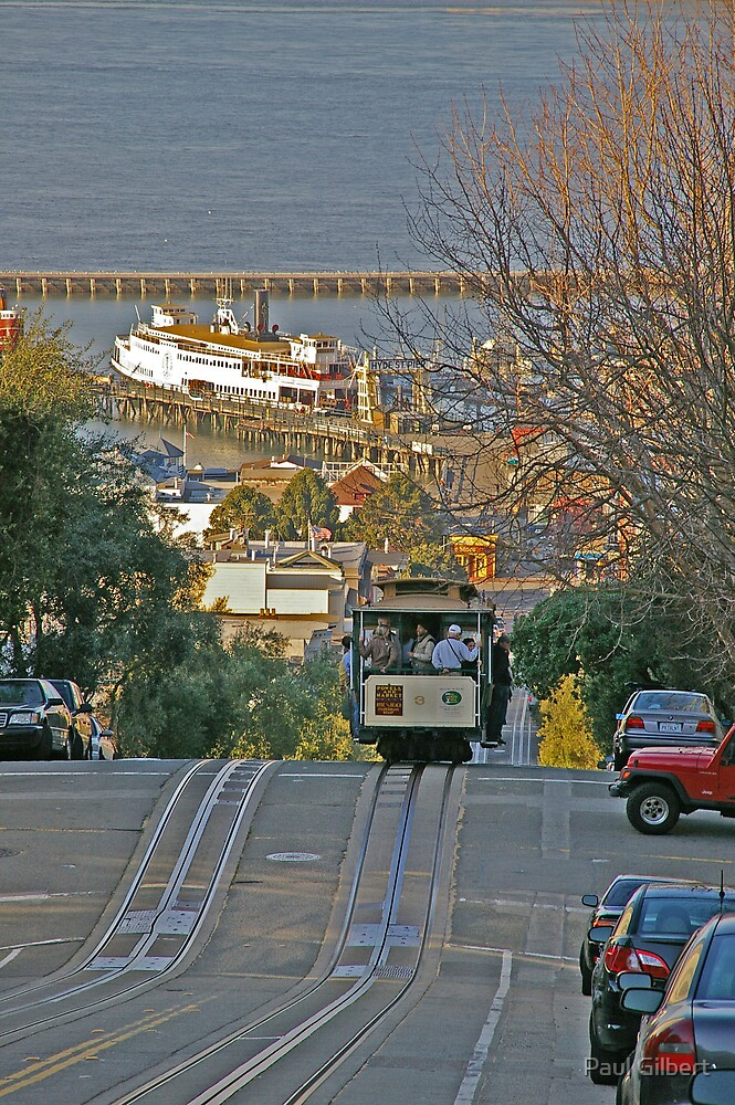 On the way to fishermans wharf by Paul Gilbert