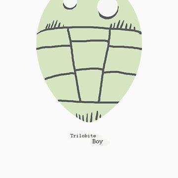 Trilobite Boy Fan by flyingtrilobite