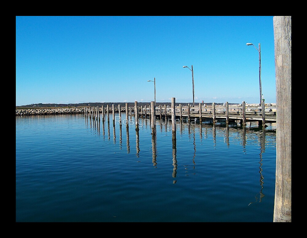 Menemsha Harbor by Roslyn Lunetta