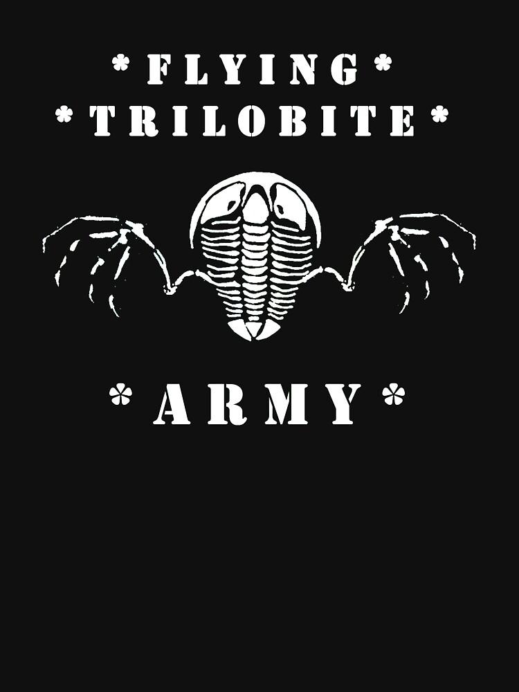 Flying Trilobite Army - white by flyingtrilobite