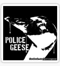 Police Geese Original  Sticker