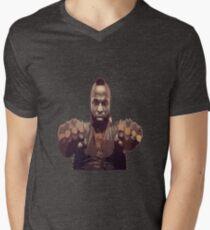 A Team - Mr T Mens V-Neck T-Shirt