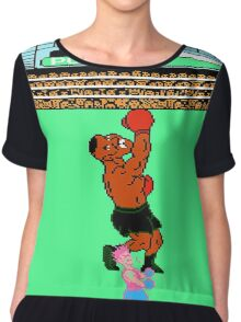 Mike Tyson's Punch Out Chiffon Top