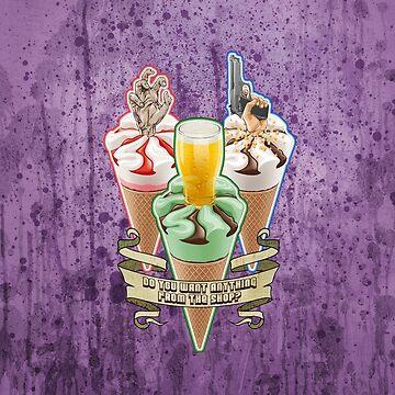 Purple Cornetto Trilogy Banner by VanHogTrio