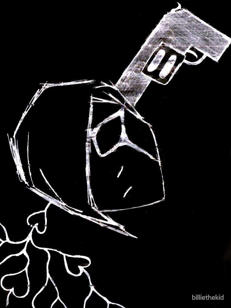 Suicidal Youth T-Shirt by billiethekid