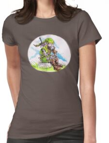 Robot Linkage Womens Fitted T-Shirt
