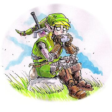 Robot Link by Sketchbooks