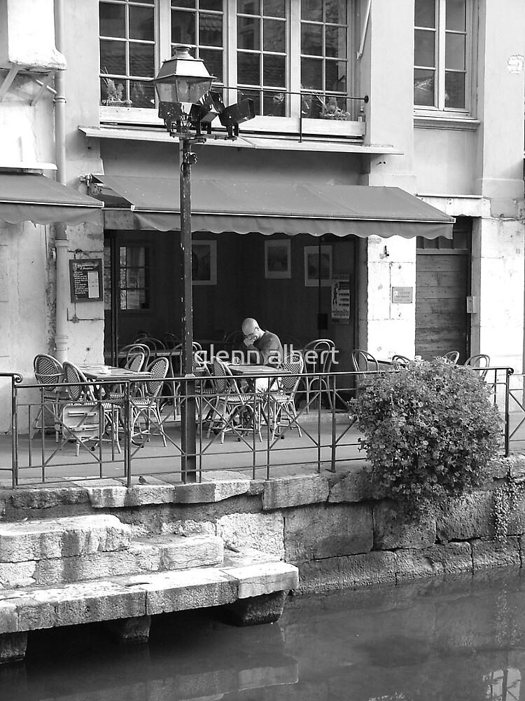 French Cafe by glenn albert