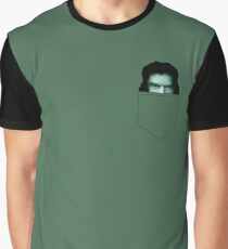 Tommy Wiseau Pocket - The Room Graphic T-Shirt
