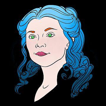 Blue Hair by caitlin2006