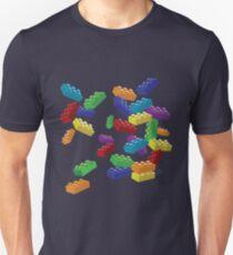 Falling Legos 2 Unisex T-Shirt