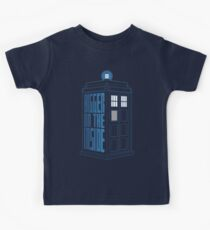 It's Bigger On The Inside. Kids Clothes