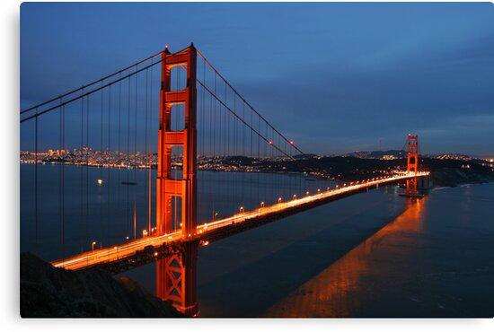 Golden Gate Bridge by Christophe Testi
