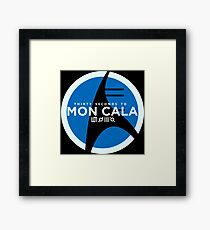 30 Seconds to Mon Cala Framed Print