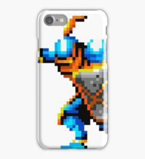 Pixel art of knight iPhone Case/Skin
