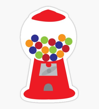Gumball Machine Sticker