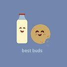 Foodie Buddies - Best Buds by zacrizy