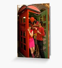 RB Phone Booth (Sydney) Greeting Card