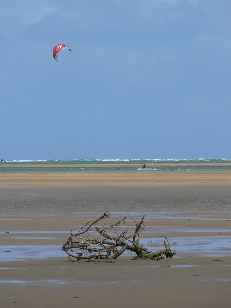 Kite Surfing by PuckMorrow