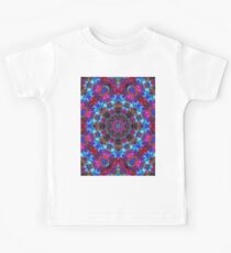 Fractal Floral Abstract G86 Kids Tee