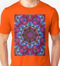 Fractal Floral Abstract G86 T-Shirt