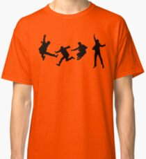 The Beatles - Silhouette of jumping Classic T-Shirt