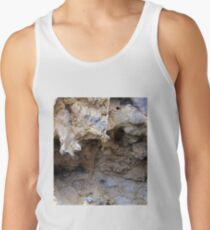 The Magnified Overhang inside a Anciant Boulder , Wow. Tank Top